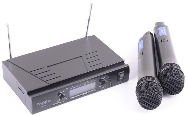 Mikrofonowy zestaw bezprzewodowy Ibiza UHF20