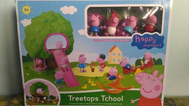 Новый игровой набор Peppa Pig Свинка Пеппа Домик на дереве от 3-х лет