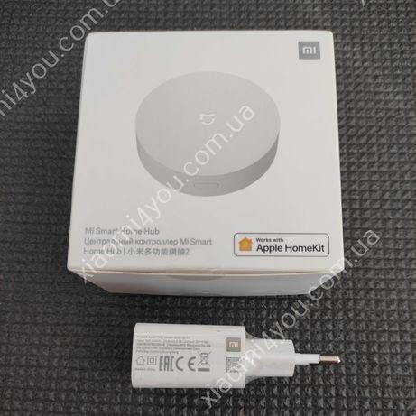 Шлюз хаб GLOBAL Xiaomi MiJia Home Gateway Zigbee 3.0 Apple HomeKi
