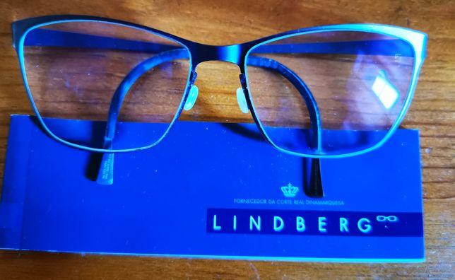 Armação óculos Lindberg
