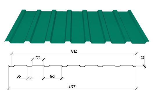 Забор из профнастила. Стеновой профнастил от завода. Цена производства