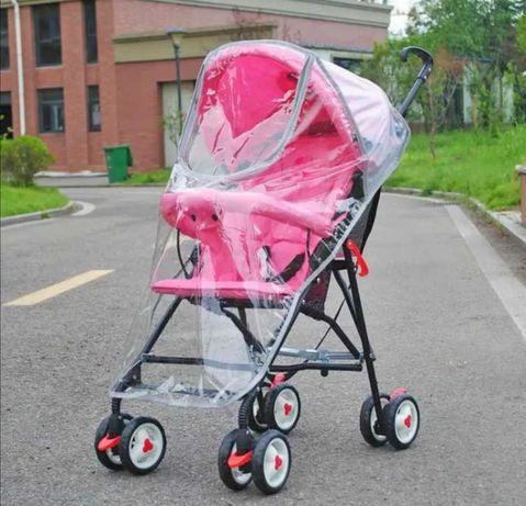 Capa chuva para carrinho bebé