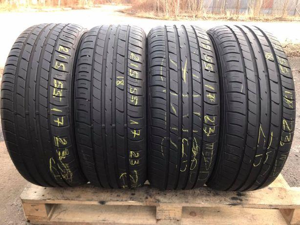 Літні шини 215/55 R17 Falken Ziex ze914a 4ШТ/6.3+mm/2019рік