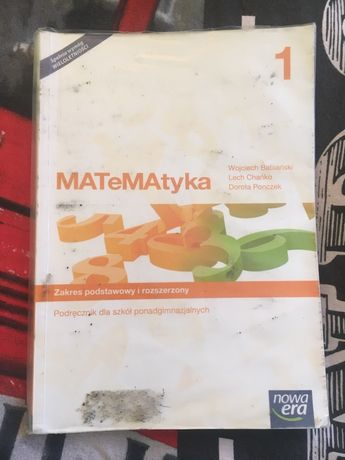 Podręcznik do matematyki z Nowej Ery - Matematyka 1