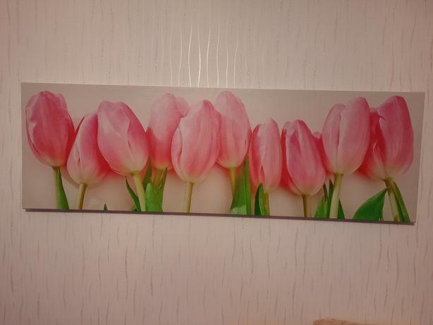 Obraz duzy, motyw kwiatowy-TULIPANY!