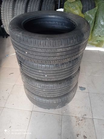 Opony 195/55r16 87H Continental EcoContact 6 jak nowe
