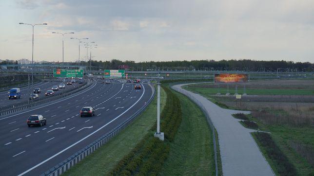 Reklama, konstrukcja tablica 12x3, S8 zjazd na lotnisko/puławska