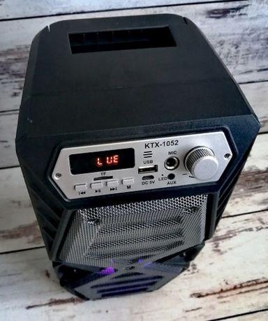 Głośnik Bluetooth Bezprzewodowy BOOMBOX karaoke Kolumna