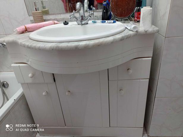 Móvel de casa de banho + Lavatório