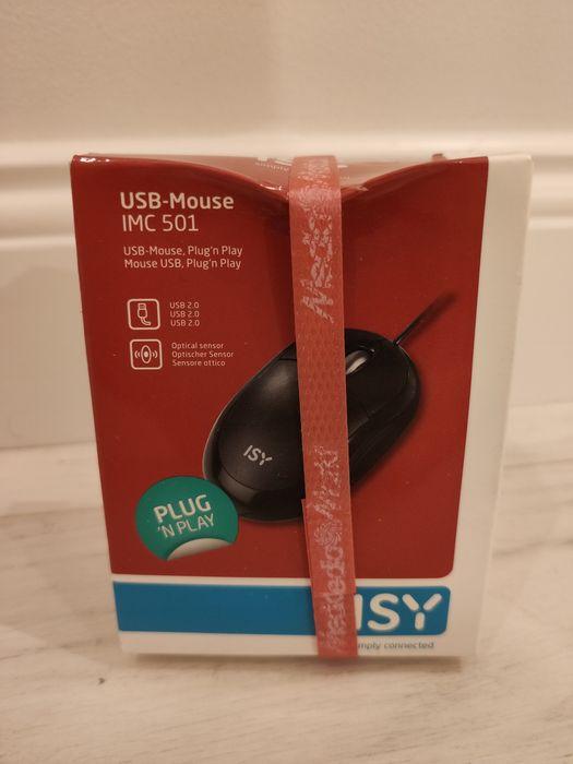 Myszka mysz do komputera PC laptopa nowa USB Ciechocinek - image 1
