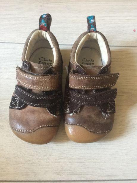 Кеды мокасины кроссовки туфли на липучке Clarks
