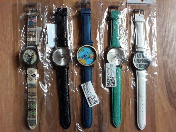 Zegarek na rękę blogerski Who cares Samolot mapa