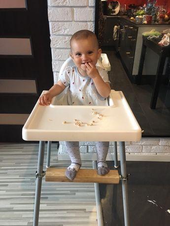 Regulowany podnóżek Nowy krzesełko do karmienia Ikea Antilop