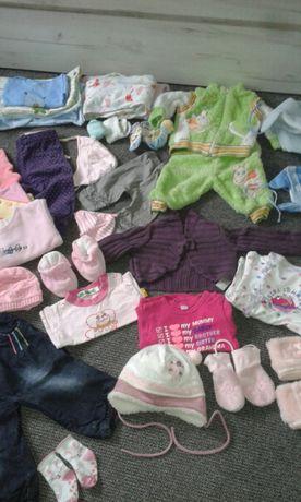 Ubranka dla dziewczynki niemowlęce Znane Marki