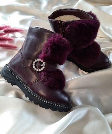 Чоботи зимові дитячі, зимове взуття