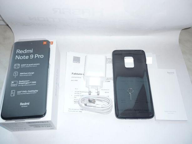 Redmi Note 9 Pro dual model M2003J6B2G Nowy Komplet Gwarancja Okazja