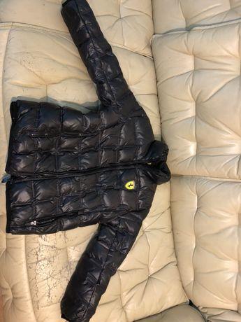 Фирменная детская куртка Ferrari