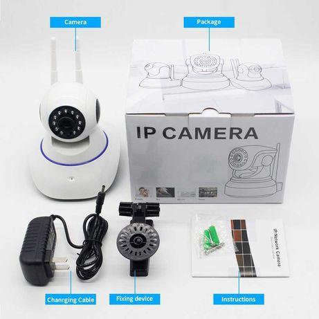 Поворотная IP WI-FI Камера 1080 P HD