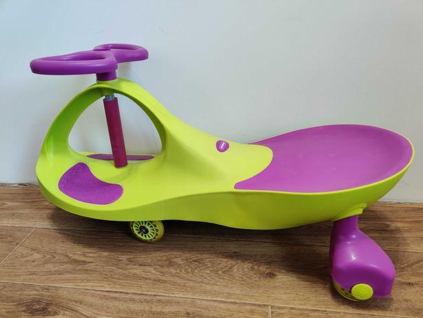 детская машинка-каталка Smart Сar NEW GREEN+PURPLE Kidigo