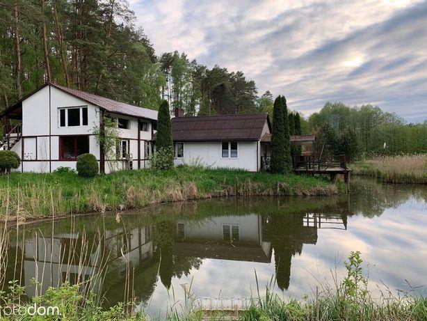 Dom w lesie, agroturystyka, łowisko