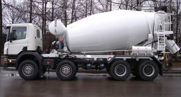 БЕТОН доставка, продаж бетону, бетоновоз, міксер, бетономішалка
