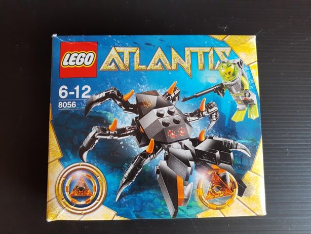 Zestaw LEGO Atlantis 8056 - Monstrualny krab (Monster Crab Clash)
