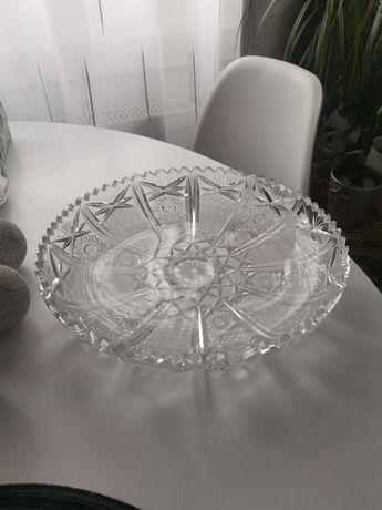 Patera talerz kryształ