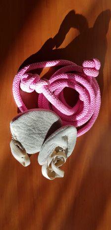 Скакалка для гимнастики, получешки для занятий гимнастикой или танцами