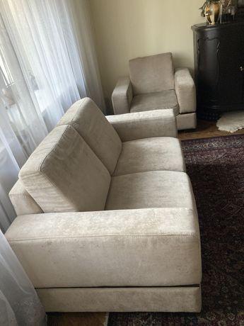 Komplet sofa 3os , 2 os i fotel