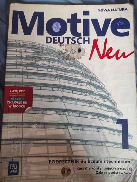 niemiecki Motive deutsh neu 1 (podręcznik do liceum i technikum)