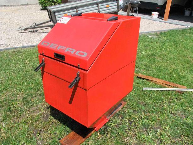 Piec Ekogroszek DEFRO 25KW - zestaw