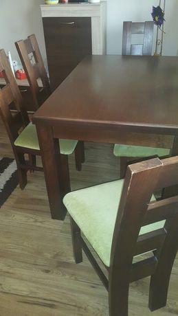 Stół i krzesła szt 6.