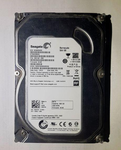 Жесткий диск Seagate 500GB (7200rpm 16MB SATAIII) SMART BAD