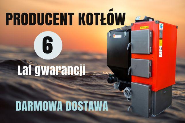 160 m2 MOC 22 kW Kocioł z Podajnikiem na Ekogroszek KOTLY PIEC 20 21