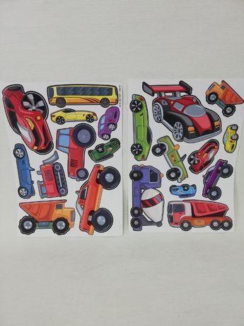 Naklejki samoprzylepne dla dzieci auta