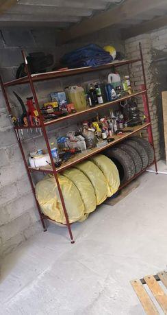 Regał do garażu, piwnicy, sklepu, schowka