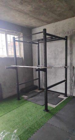 Power Rack pullups crossfit ginasio musculação