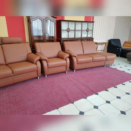 Новый кожаный комплект кожаный диван Германия