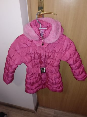 Zimowa kurtka stan idealny rozmiar z metki 134/140 ale na moje to 122