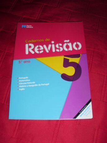 Cadernos de Revisão - 5.º Ano - Todas as disciplinas (NOVO)