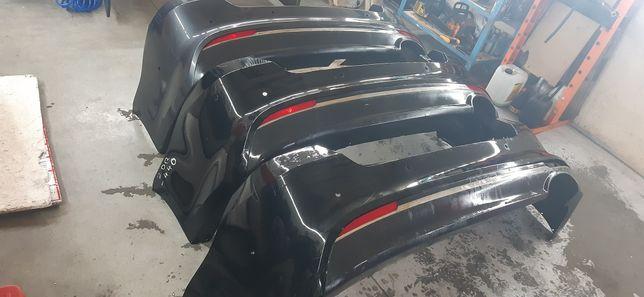 Kia Optima 2016-2021 Бампер задний, отражатели, хром