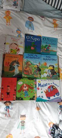 Livros infantis recentes