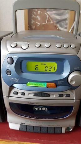 Rádio Leitor CD Portátil ( Philips AZ2402 )