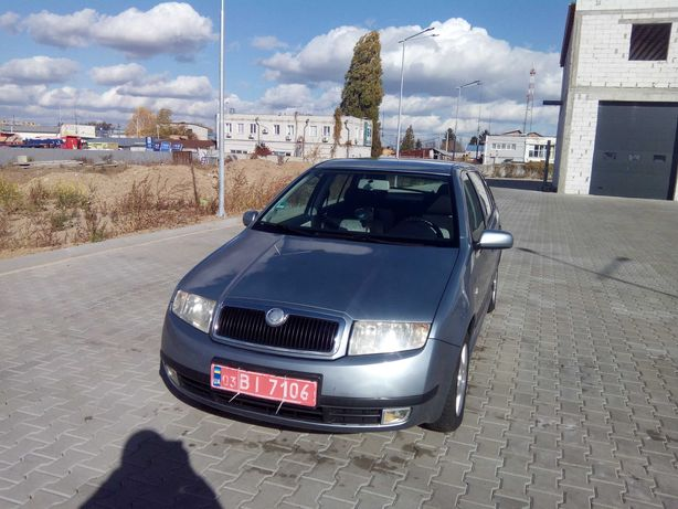 Продам Skoda Fabia 1.4 2003 рік