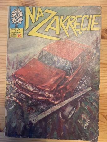 Kapitan Żbik Na Zakręcie wydanie II rok 1981