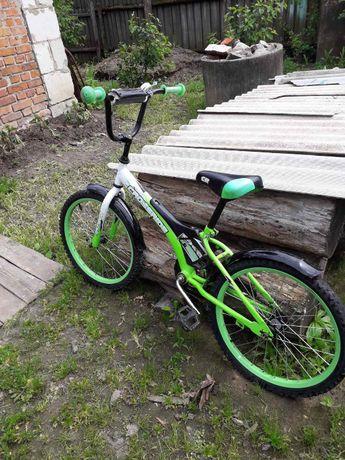 """Продам велосипед """"CROSSRIDE"""" для детей от 5-10 лет зеленый"""
