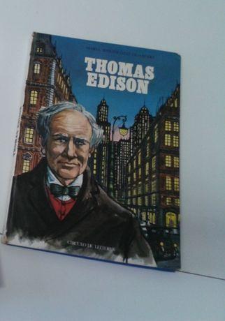 LIVRO Thomas Edison p/crianças e jovens+BRINDE