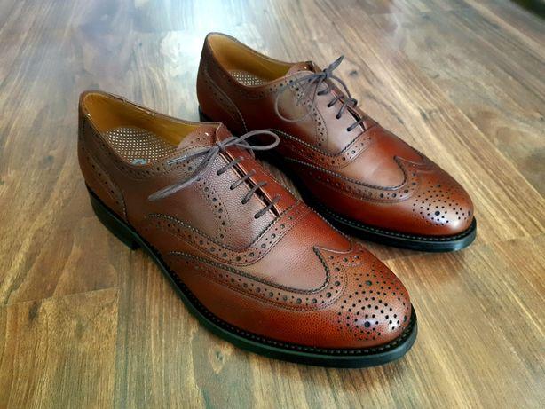Броги Van Bommel , туфли классические , кожа