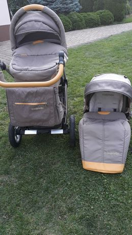 Wózek baby design spacerówka gondola