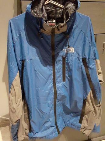 Niebieska kurtka Męska  The North Face . R. M par razy używana